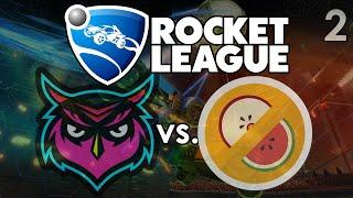 Rocket League: Datto & Math Class vs. Mr. Fruit & The Dream Team Best of 5 Series! (#2)