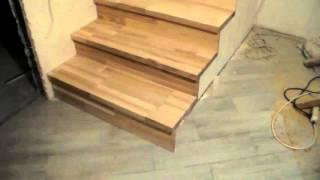 часть 1 из 6, монтаж деревянных ступеней на металлический каркас лестницы(Спасибо за подписку !!! Часть 1 - черновой монтаж деревянных ступеней на металлокаркас лестницы. Ставьте..., 2015-12-19T13:43:35.000Z)