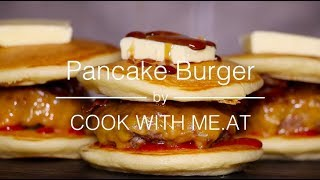 Pancake Smashed Burger - The Ultimate Brunch - COOK WITH ME.AT