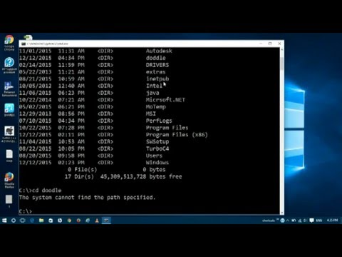 how open any type of file using command prompt