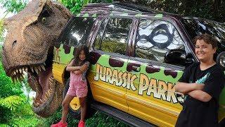 Jurassic Park - Um dia na Ilha da Aventura