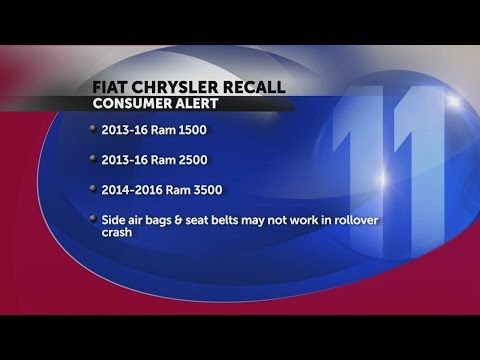 Fiat Chrysler recalls 1M pickups for faulty software