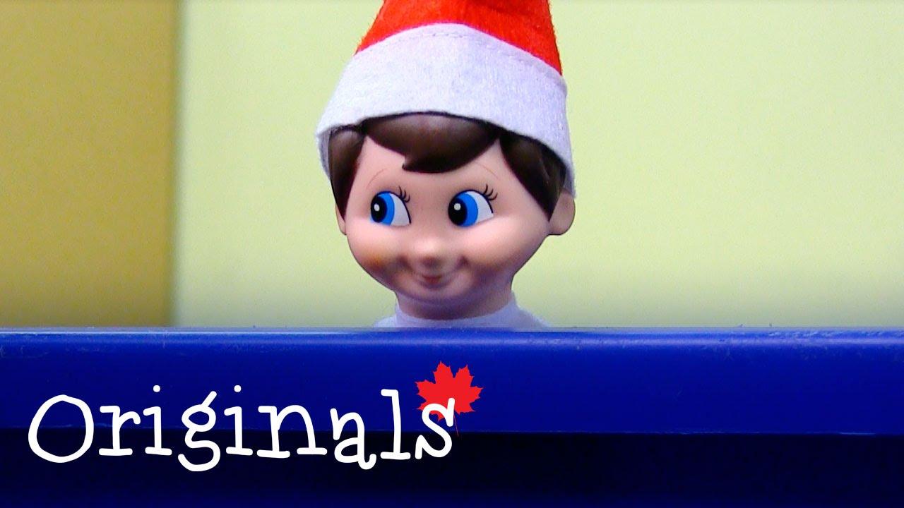 Cameras Catch Elf On Shelf Making Snowman Youtube
