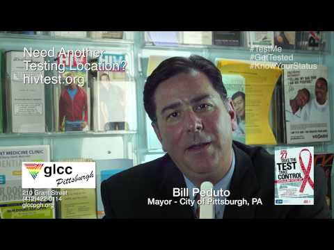 HIV Testing PSA Featuring Pittsburgh Mayor Bill Peduto
