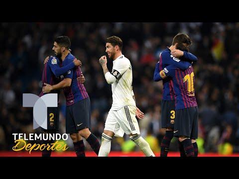 El Barcelona golpea primero y gana al Real Madrid en el Clásico virtual | Telemundo Deportes