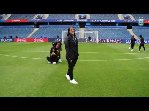 #SelecciónFemenina: Reconocimiento en el Stade Océan