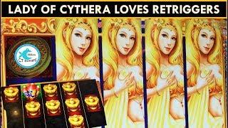 Winning! Lady of Cythera and Da Ji Da Li Slot Machine Bonuses!