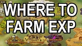 Where to Farm EXP  +  Account Bootcamp