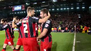 All angles covered | Steve Cook makes it five for AFC Bournemouth at Fulham