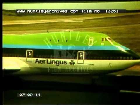 Irish Boeing 747, 1970's - Film 13251