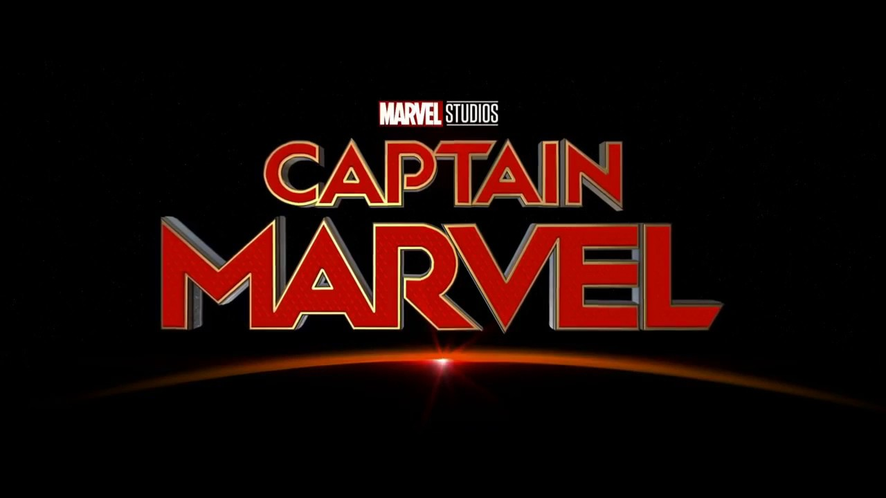Image result for captain marvel movie logo