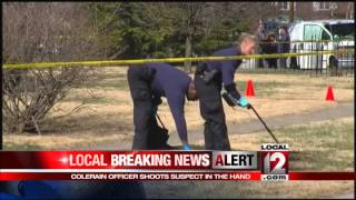 Local police officer involved in shooting