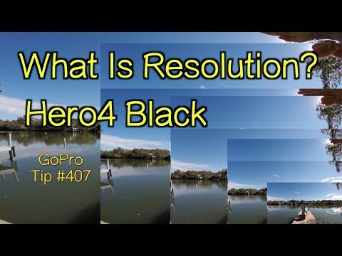 What Is Resolution - Hero4 Black - View in 4K - GoPro Tip #407