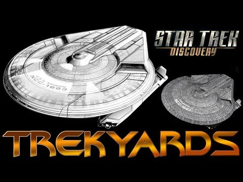 Trekyards EP331 - USS Edison (Disc) (First Look)