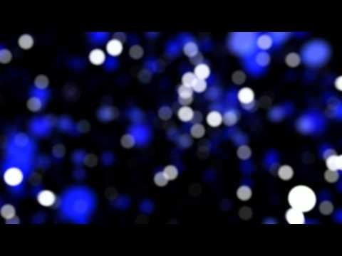 4K Color Changing Bokeh Lights Dance Background video