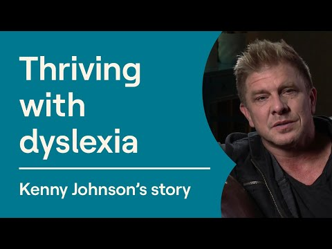 Kenny Johnson Interview   Actors With Dyslexia