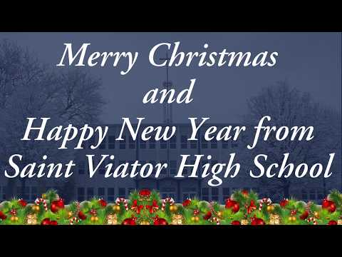 Merry Christmas from Saint Viator High School