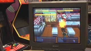 Classic Game Room - DYNAMITE DEKA 2 review for Sega Dreamcast