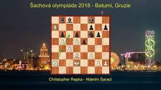 Šachová olympiáda 2018 - report z 5  . kola