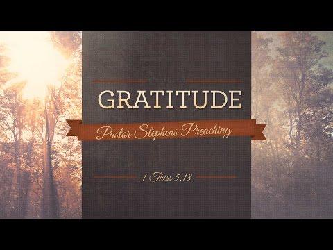 Gratitude 01082017 AM The Door Christian Fellowship   El Paso Texas