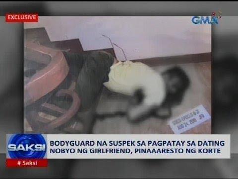 Bodyguard na suspek sa pagpatay sa dating nobyo ng girlfriend, pinaaaresto ng korte