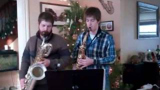 The Huron Carol Sax Duet