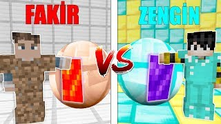 ZENGİN PORTALI VS FAKİR PORTALI! 😱 - Minecraft