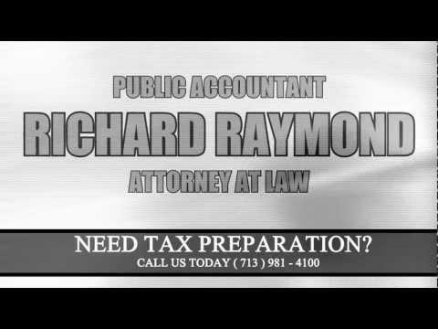 Richard Raymond Tax Preparation Commercial.wmv