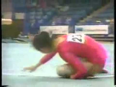 Tai nạn dẫn đến cái chết của nữ VĐV Thể dục dụng cụ Liang Dongfem 1996