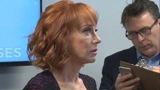 "Kathy Griffin says Trump ""broke me"""