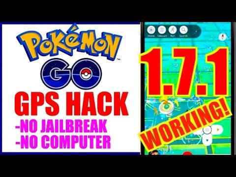 NEW WORKING POKEMON GO TELEPORT HACK 1.7.1!! NO JAILBREAK NO COMPUTER!! TAP TO WALK + TELEPORT