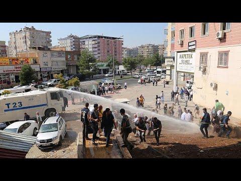 Курдские протесты в Диярбакыре