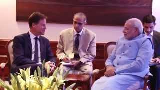 Deputy PM of UK calls on PM Narendra Modi