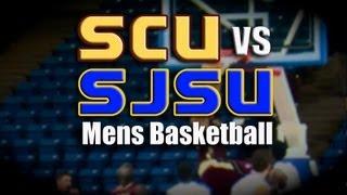 College Basketball:  Santa Clara University vs San Jose State