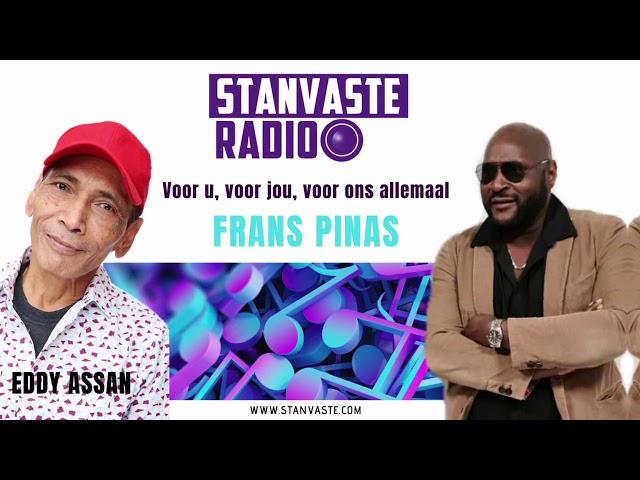 Frans Pinas in gesprek met de muzikale Eddy Assan