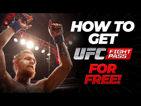 Free UFC Fight Pass - How To Get UFC Fight Pass For Free - Android & IOS