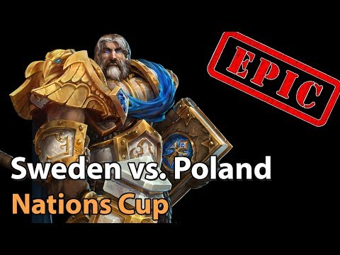 ► Sweden Vs. Poland - Nations Cup - Heroes Of The Storm Esports