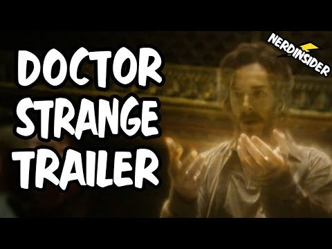 Doctor Strange WORLD PREMIERE Trailer REACTION and REVIEW