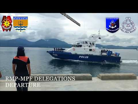 PNP MARITIME GROUP HOSTED 2ND BILATERAL MEETING WITH THE RMP MARINE POLICE FORCE AT PPC, PALAWAN