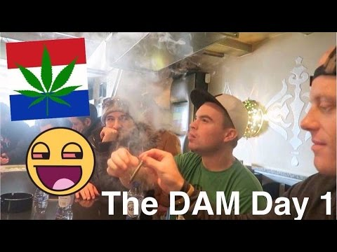COFFEESHOPS IN AMSTERDAM... VLOG!! 🌲💨🇳🇱 #EuroweekDAY1 | Weed, Munchies & Holy Fuck Thats Delicious