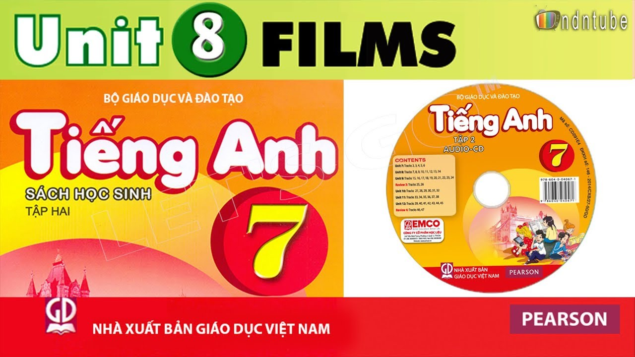Tiếng Anh Lớp 7: UNIT 8 FILMS