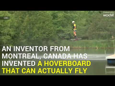 Tech Side - Finally, A Hoverboard That Can Actually Fly - Traffic solution for India