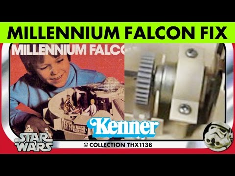 Star Wars Vintage Kenner MILLENNIUM FALCON SOUND EFFECTS Instructions Box 1979 | Collection THX1138