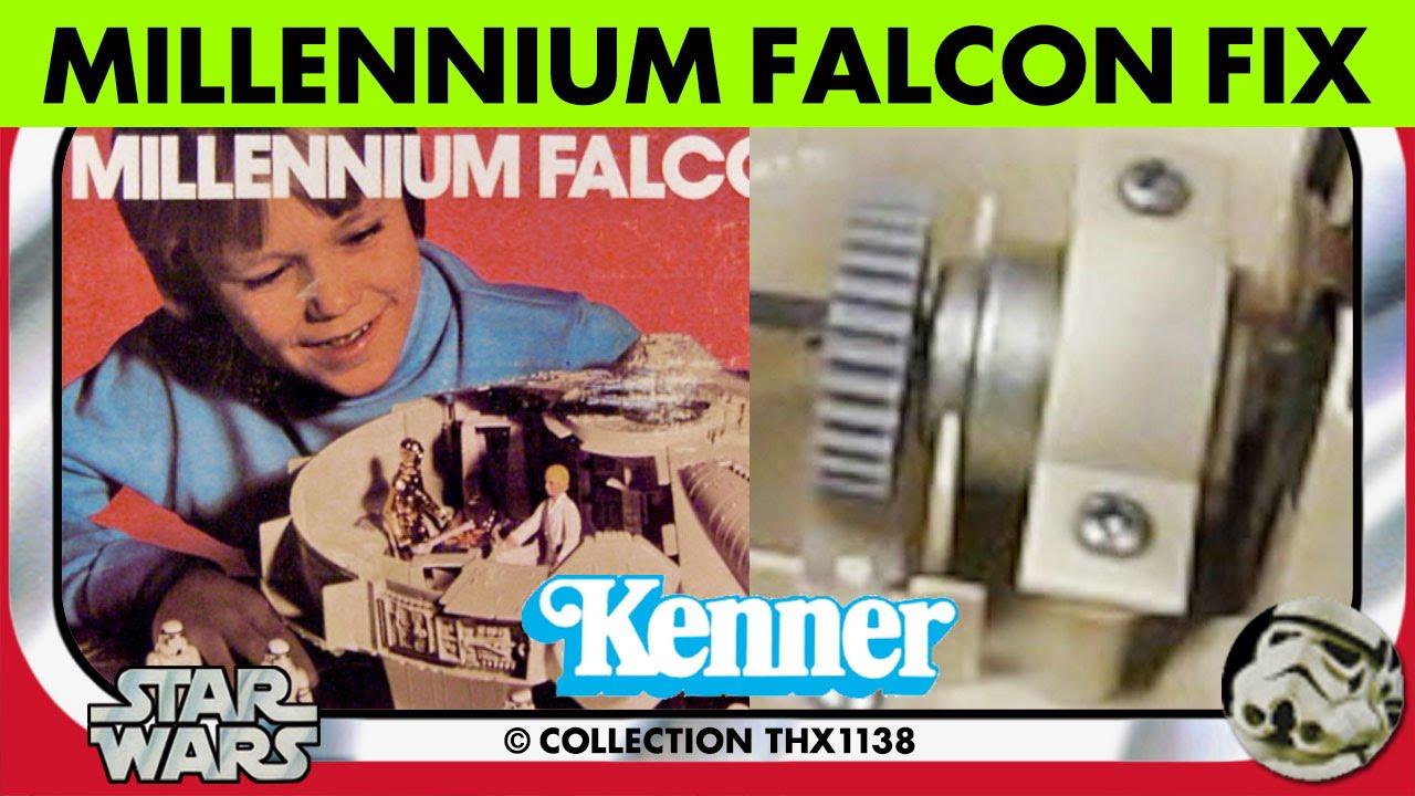 star wars vintage kenner millennium falcon sound effects instructions box 1979 collection. Black Bedroom Furniture Sets. Home Design Ideas