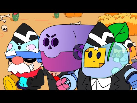 Brawl Stars Animation Compilation #12  - Gale X Sprout X Rosa