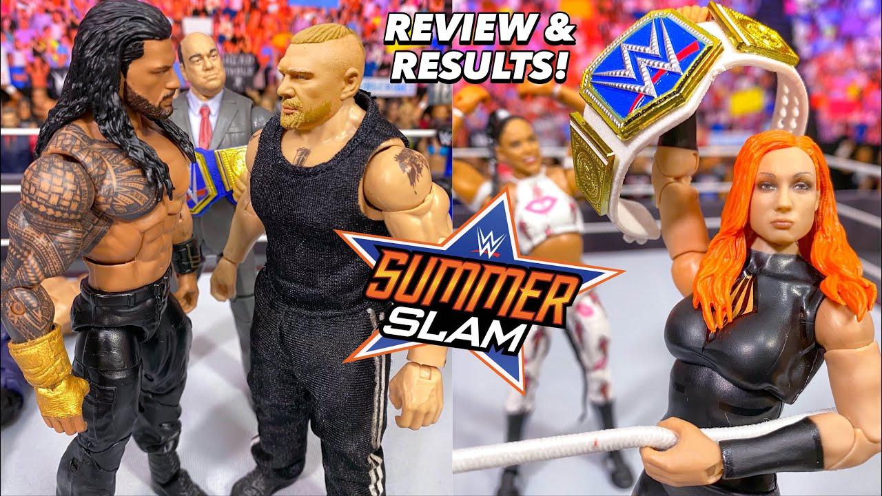 WWE SUMMERSLAM 2021 REVIEW & RESULTS! BROCK LESNAR & BECKY LYNCH RETURN!