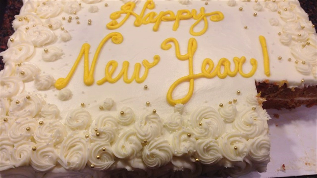 happy new year cakes