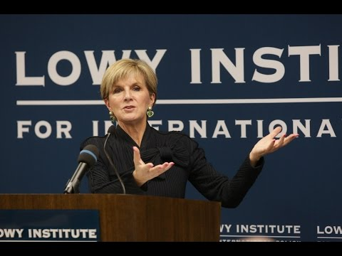 The Hon. Julie Bishop MP on Australia's foreign policy and economic diplomacy