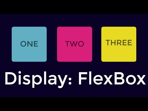 How To Use Display Flex (FlexBox) - HTML & CSS Pt I