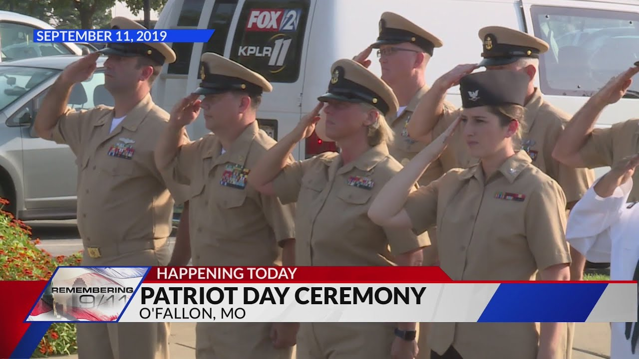 9-11 Anniversary: Many ceremonies mark 'Patriot Day' in St. Louis